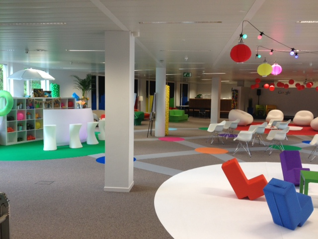 Fun meetings with Google